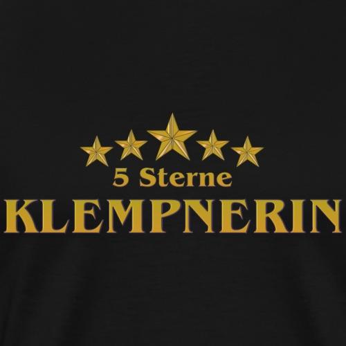 Vom Grafik Designer--Klempnerin - 5 Sterne - Männer Premium T-Shirt