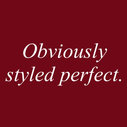 perfect style - Männer Premium T-Shirt