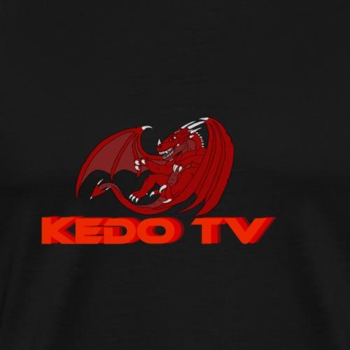 Kedo's Drachen - Logo - Männer Premium T-Shirt