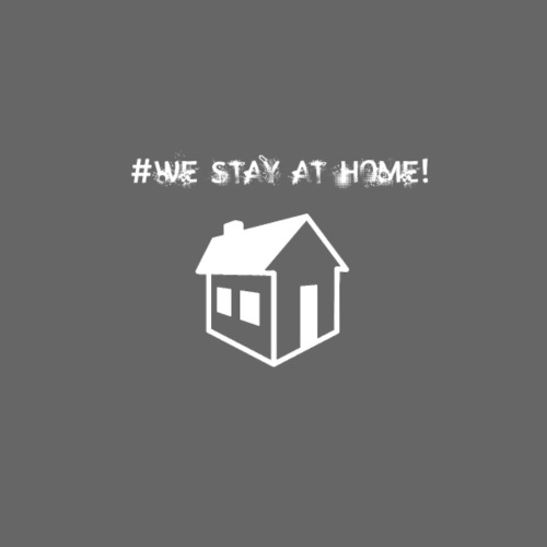 #We stay at home! - Männer Premium T-Shirt