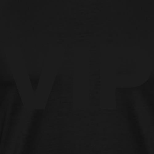 VIP tumma hämylogo - Miesten premium t-paita