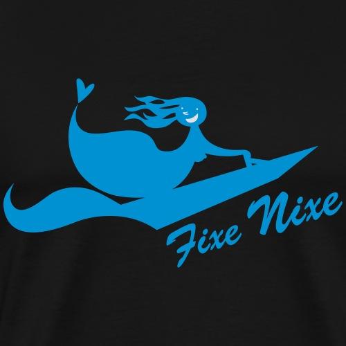 LES TROIS CR3ATEUSES_Fixe - Männer Premium T-Shirt