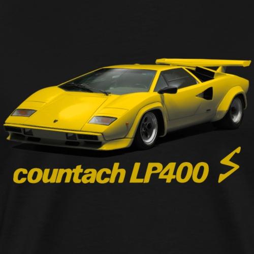 giallo coruntach - Men's Premium T-Shirt