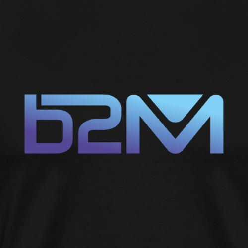 B2M degrade mauve bleu - T-shirt Premium Homme
