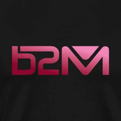 B2M degrade rose - T-shirt Premium Homme