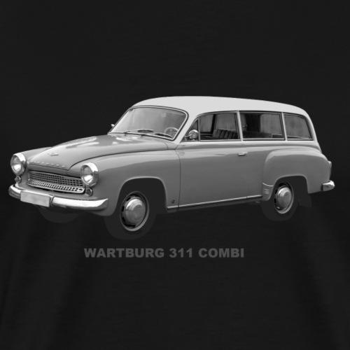 Wartburg 311 Combi DDR Eisenach AWE - Männer Premium T-Shirt