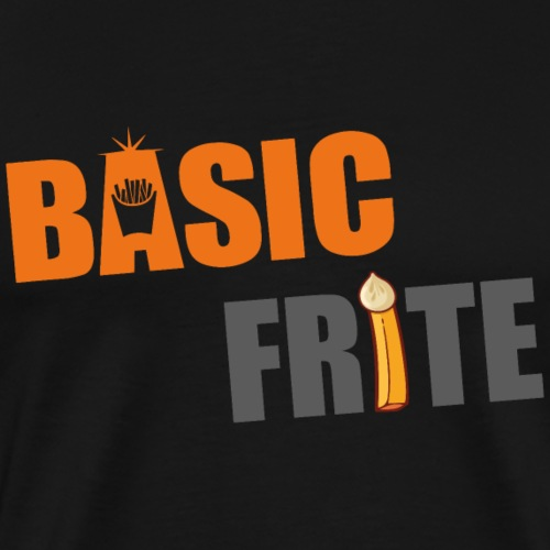 Basic frite 2 - T-shirt Premium Homme