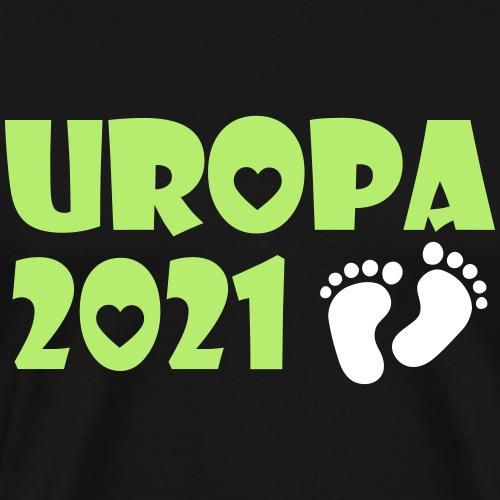 2021 Uropa Baby Schwangerschaft - Männer Premium T-Shirt