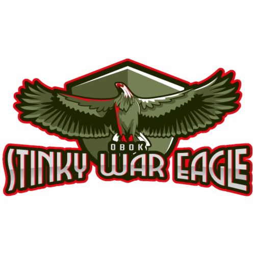Stinky war Eagle - Mannen Premium T-shirt