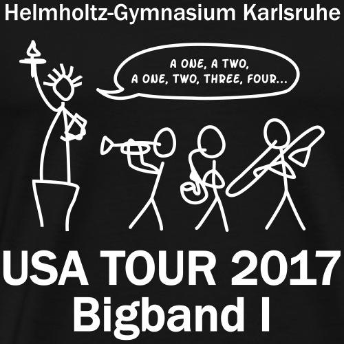 USA Tour2017 - Männer Premium T-Shirt