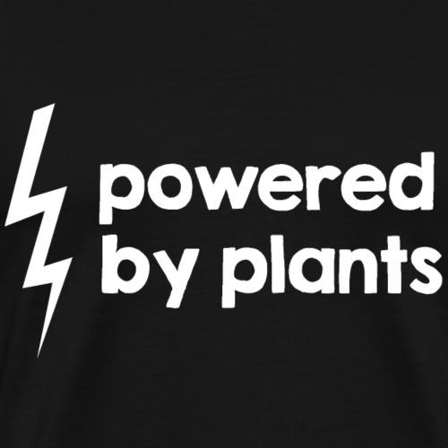 Powered by plants #2 - Männer Premium T-Shirt