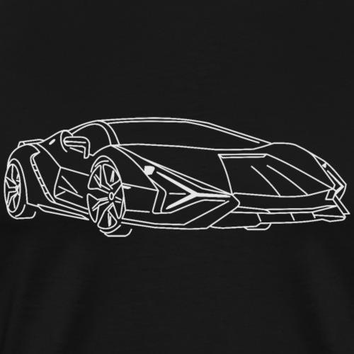 voiture hybride - T-shirt Premium Homme