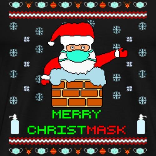 Merry Christmask Ugly Xmas - Männer Premium T-Shirt