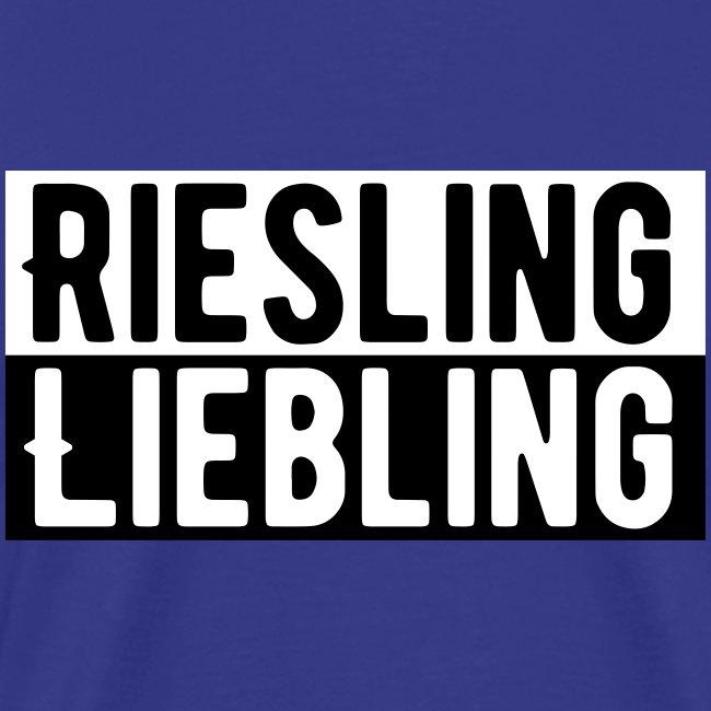 Riesling Liebling / Weintrinker / Partyshirt