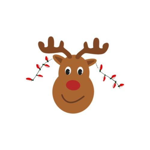 Christmas reindeer - Mannen Premium T-shirt