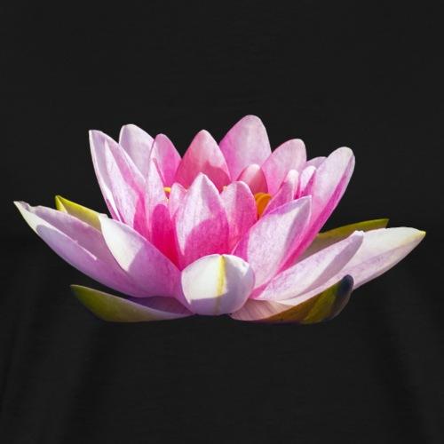 Lotos Nelumbo Teichrose Blume Wasserpflanze - Männer Premium T-Shirt