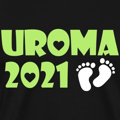 2021 Uroma Baby Schwangerschaft - Männer Premium T-Shirt