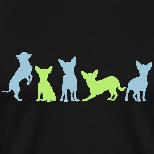 Chihuahua Gruppe - Männer Premium T-Shirt