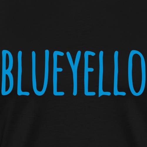 blueyello - Männer Premium T-Shirt