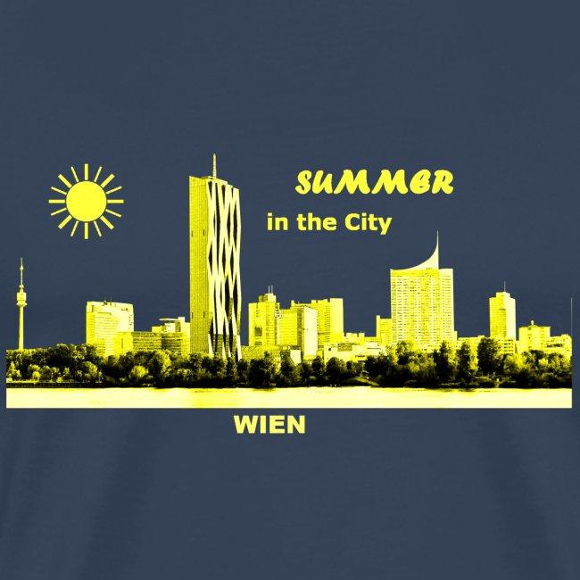 Wien Summer City Oesterreich Austria Skyline