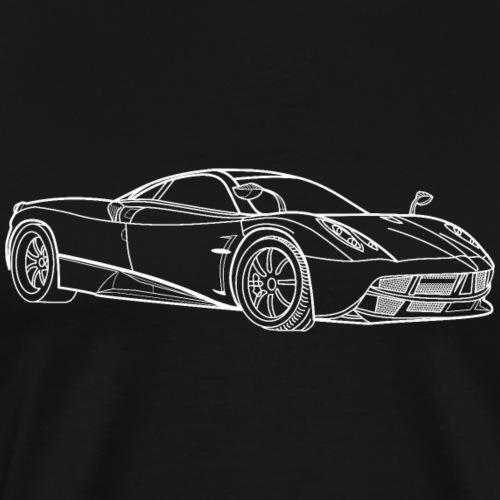 Pagani Huayra - T-shirt Premium Homme