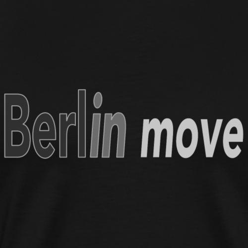 Berlin move - Männer Premium T-Shirt