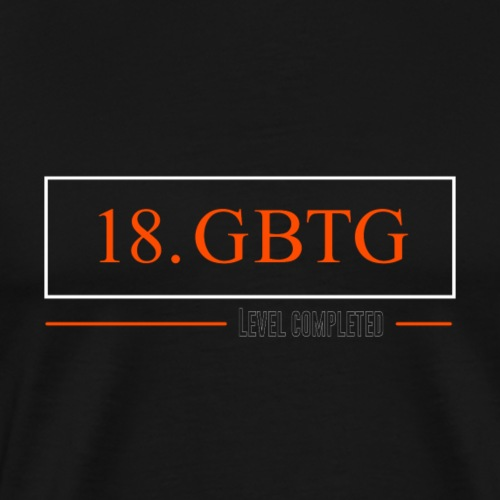 T-Shirt zum 18. Geburtstag im Minimalistic Style