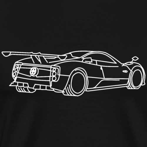 pagani zonda - T-shirt Premium Homme