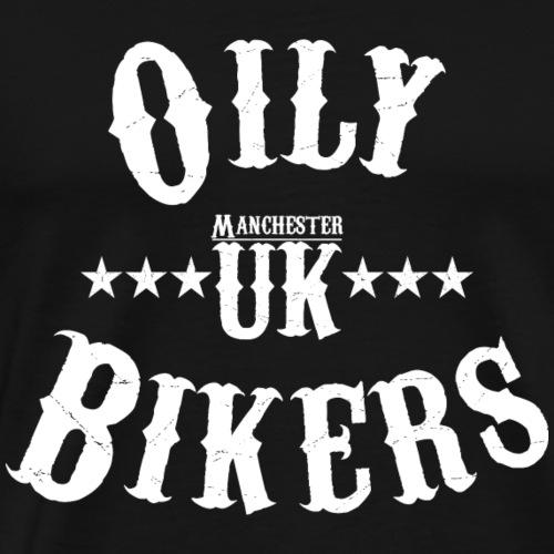 Oily Bikers - Vintage Design - Men's Premium T-Shirt