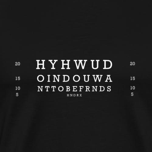 Friends White - Men's Premium T-Shirt