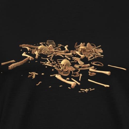 Knochen - Männer Premium T-Shirt
