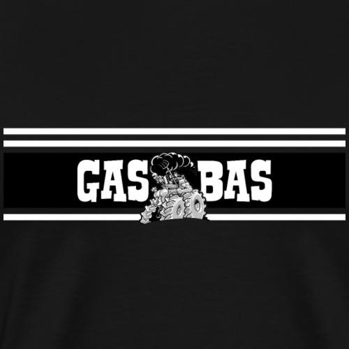 IH GAS BAS black - Mannen Premium T-shirt