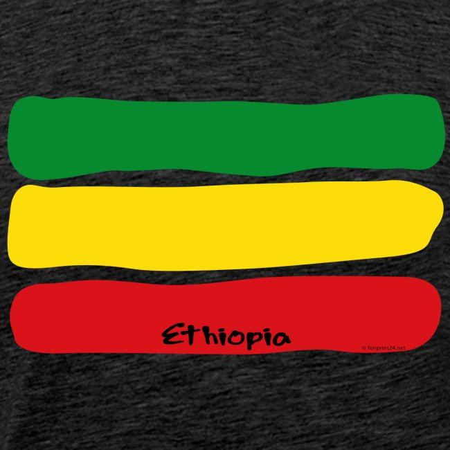 Ethiopia flag - African ethnic textiles and gifts