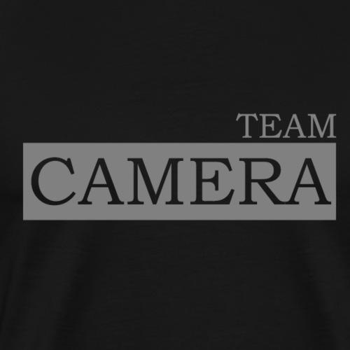 Team Camera_grey - Männer Premium T-Shirt