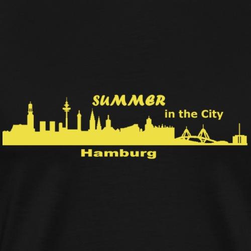 Hamburg Sommer City - Männer Premium T-Shirt