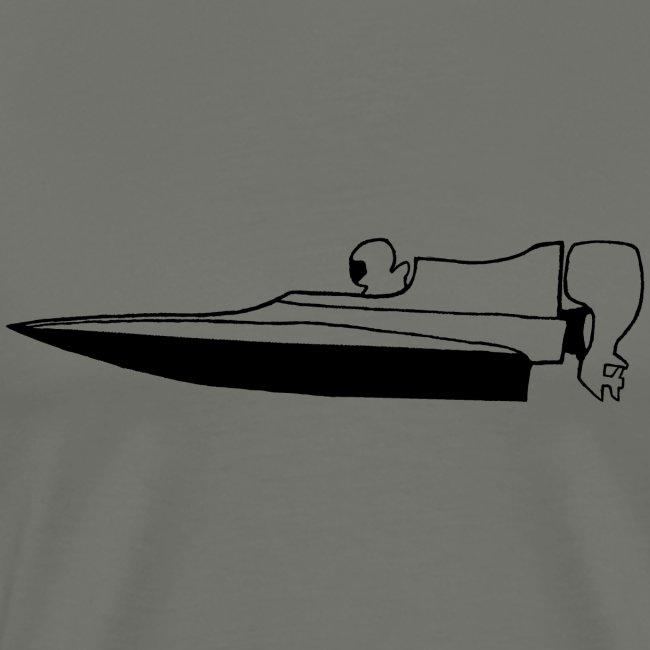 Powerboat GT30/GT15 Black flip
