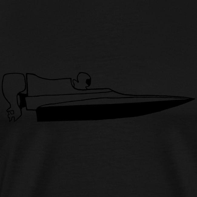 Powerboat GT30/GT15 Black