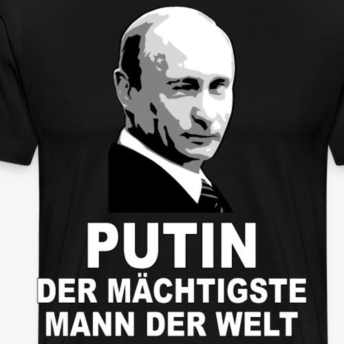80 Putin der Mächtigsste Mann der Welt - Männer Premium T-Shirt