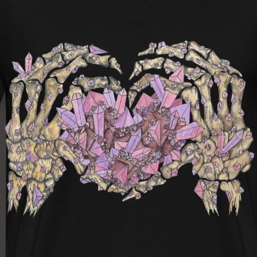 L amour Cristallin couleur - T-shirt Premium Homme