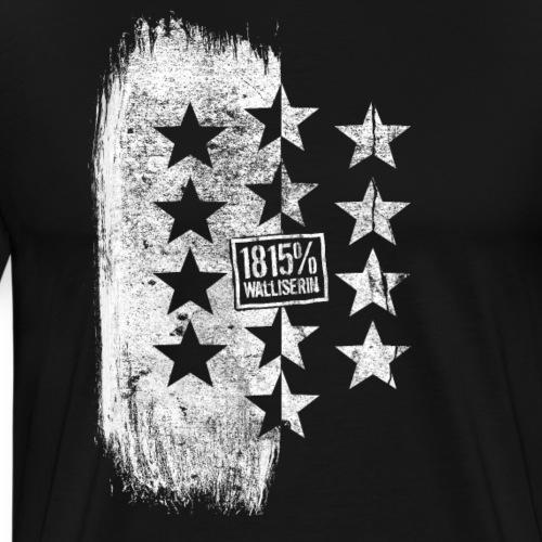 1815% Walliserin - Männer Premium T-Shirt