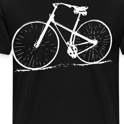 Retro Bike Design Bike Lovers Vintage - Men's Premium T-Shirt