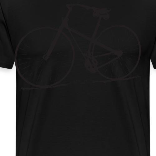 Old School Bicycle Vintage Bike Distressed - Men's Premium T-Shirt