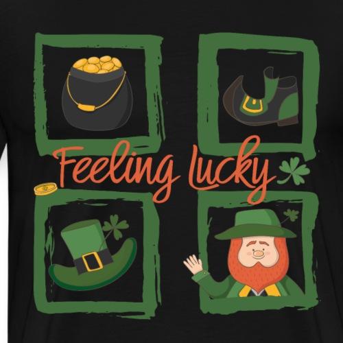 Sei glücklich - feeling lucky St. Patricks day