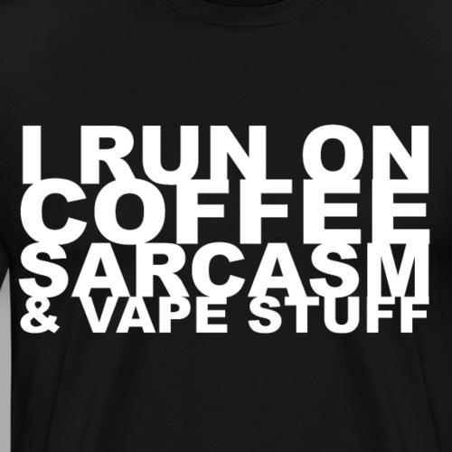 I run on... - Männer Premium T-Shirt