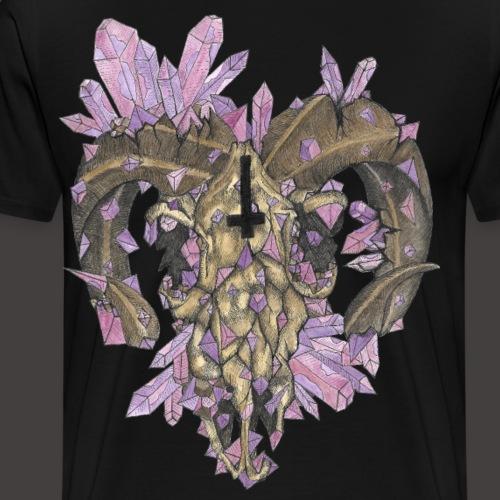 Le Bélier de Cristal Couleur - T-shirt Premium Homme
