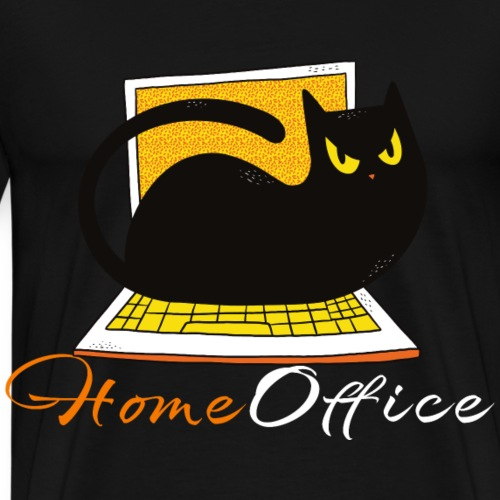 Home Office Outfit Lockdown Stay at home - Männer Premium T-Shirt