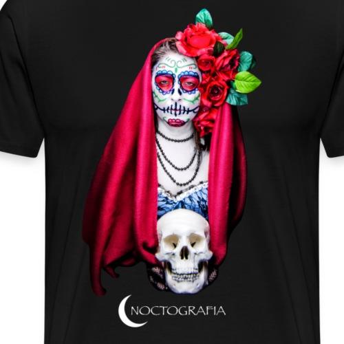 Noctografia Catrina Calavera - Camiseta premium hombre