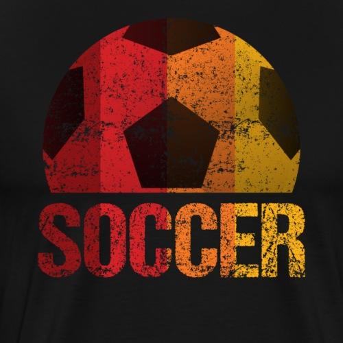 Soccer Classic Vintage - Männer Premium T-Shirt