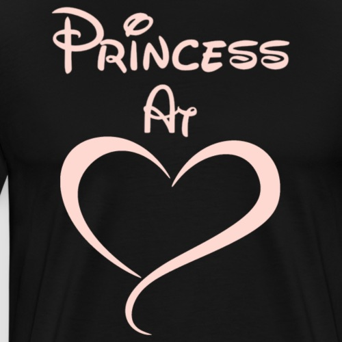 Princess At Heart - Men's Premium T-Shirt