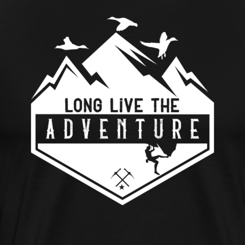 Long Live The Adventure - Männer Premium T-Shirt